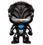 Power Rangers POP! Movies Vinyl Figura Black Ranger 9 cm