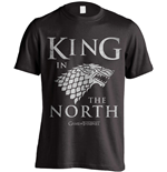Camiseta Juego de Tronos (Game of Thrones) King In The North