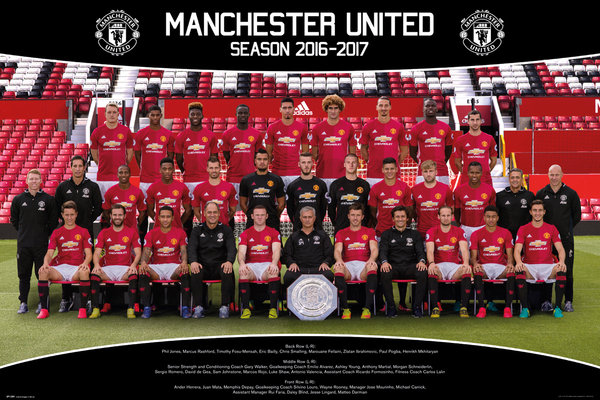 Póster Manchester United FC 249150