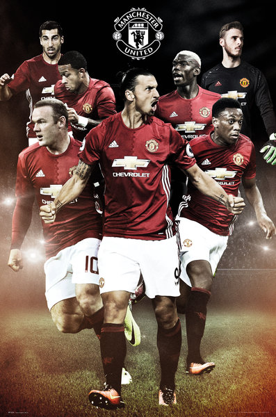 Póster Manchester United FC Players
