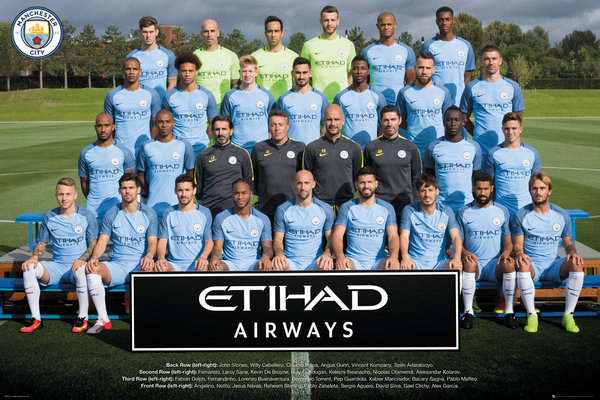 Póster Manchester City FC 249177