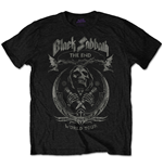 Camiseta Black Sabbath The End Mushroom Cloud