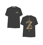Camiseta The Legend of Zelda Breath of the Wild - Golden Game Logo