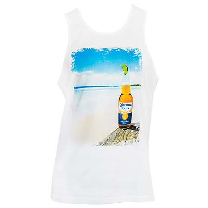 Camiseta de Tirantes Coronita White Beach