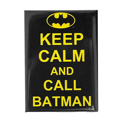 Imán Batman Keep Calm and Call BATMAN