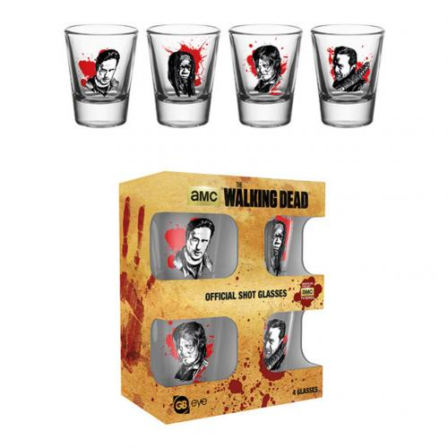 Pack Vasos de chupitos The Walking Dead