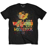 Camiseta Woodstock - Splatter Special Edition Black