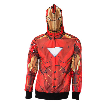 Sudadera Iron Man Full Zip Costume
