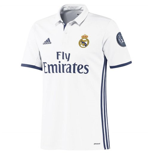 Camiseta Real Madrid 2016 2017 Home