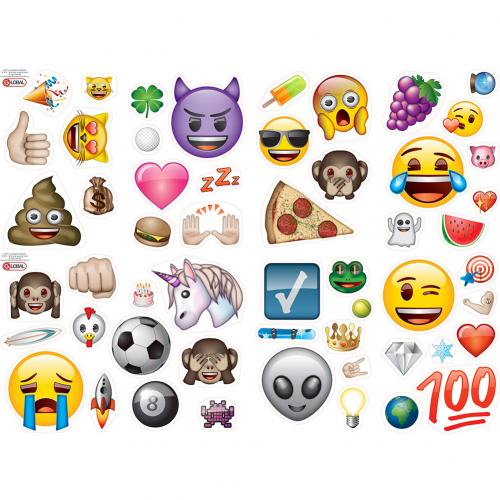 Vinilos decorativo para pared Emoji