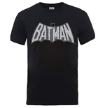 Camiseta Superhéroes DC Comics Originals Batman Retro Crackle Logo