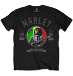 Camiseta Bob Marley Rebel Music Seal