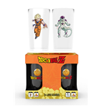 Pack 2 Vasos Bola de Dragón - Goku Vs Frieza Large