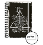Harry Potter Libreta A5 Deathly Hallowes Caja (12)