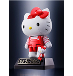 Hello Kitty Figura Diecast Chogokin Red Stripe Ver. 10 cm