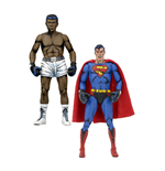 DC Comics Pack de 2 Figuras Superman vs. Muhammad Ali Special Edition 18 cm