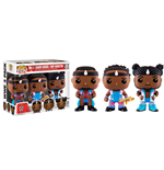 WWE Wrestling POP! WWE Vinyl pack de 3 Figuras Big E, Xavier Woods & Kofi Kingston 9 cm