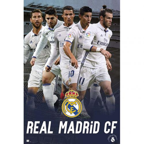 Póster Real Madrid 252008