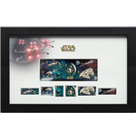 Star Wars Sellos Enmarcado Vehicles 43 x 27 cm