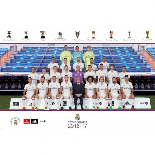 Póster Real Madrid Squad 38