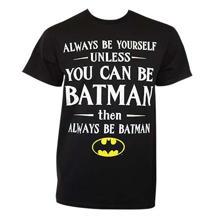 Camiseta Batman Always Be Yourself
