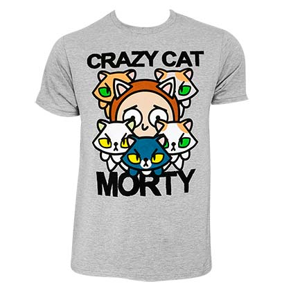 Camiseta Rick and Morty Crazy Cat
