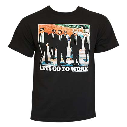 Camiseta Reservoir Dogs Let's Go To Work