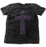 Camiseta Black Sabbath Vintage Cross