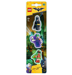 LEGO Batman Movie Pack de 3 Gomas de borrar