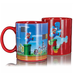 Super Mario Taza sensitiva al calor Level