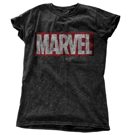Compra Camiseta Marvel Superheroes Vintage Logo de mujer Original