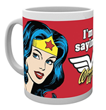 Taza Dc Comics - Wonder Woman Not Saying