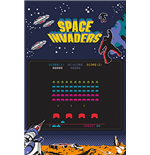 Póster Space Invaders 253621
