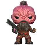 Guardianes de la Galaxia Vol. 2 POP! Marvel Vinyl Figura Taserface 9 cm