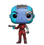 Guardianes de la Galaxia Vol. 2 POP! Marvel Vinyl Figura Nebula 9 cm