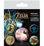 The Legend of Zelda Breath of the Wild Pack 5 Chapas The Climb
