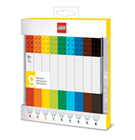 LEGO Pack de 9 Marcadores Bricks