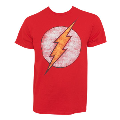 Camiseta Flash Distressed Logo