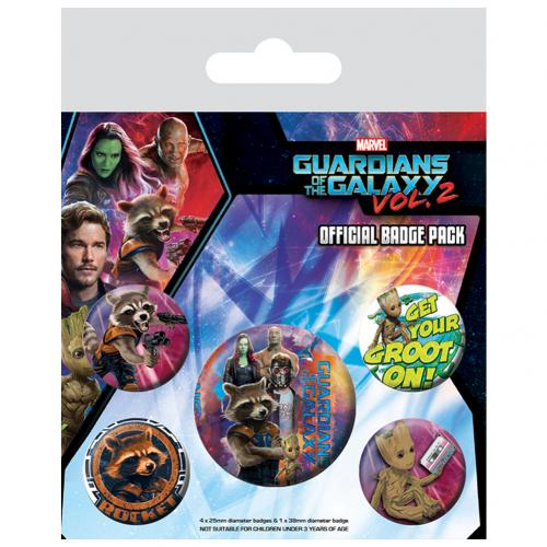 Kit Chapitas Guardians of the Galaxy