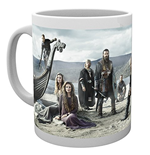Taza Vikings - Beach