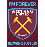 Póster West Ham United - Crest - 61x91,5 Cm