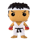 Street Fighter POP! Games Vinyl Figura Ryu White Headband 9 cm