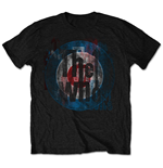 Camiseta The Who Target Texture
