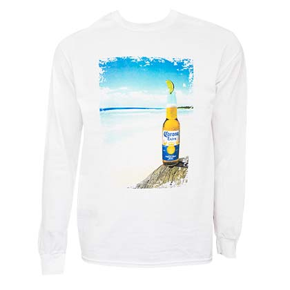 Camiseta de mangas largas Coronita Beach