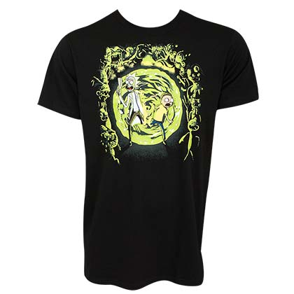 Camiseta Rick and Morty Portal