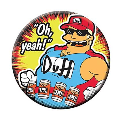Imán/Abrebotellas Los Simpsons DUFFman