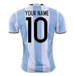 Camiseta Argentina Home 2016/17 Personalizable