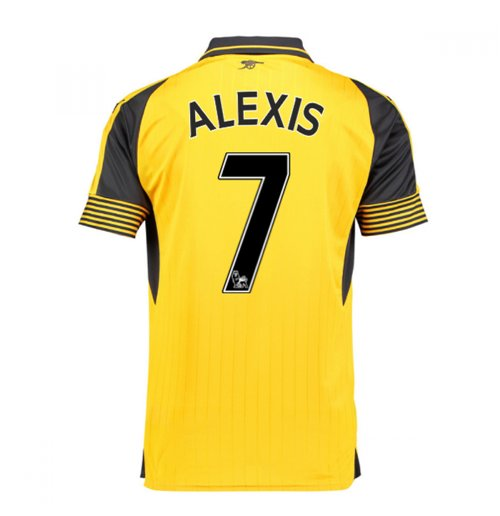 Camiseta Arsenal Away 2016/17 (Alexis 7) de niño