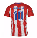 Camiseta Atlético Madrid 2016-2017 Home Personalizable