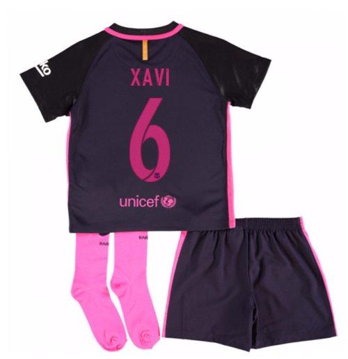 e23f6dbbd0 Compra Camiseta Barcelona Away 2016 17 de niño (Xavi 6) Original